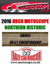 Motoscope Northern Historic Rally Championship